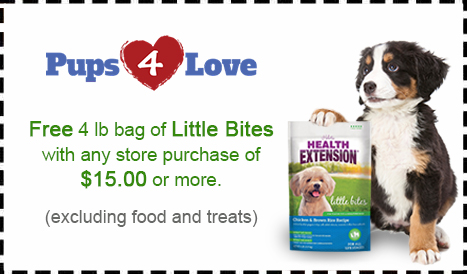 Pups 4 Love Dog Food Coupon